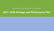 2007-2009 Strategic Performance Plan
