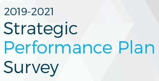 2019-2021 Strategic Performance Plan Survey