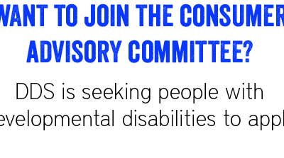 DDS Seeks Members for the Consumer Advisory Committee
