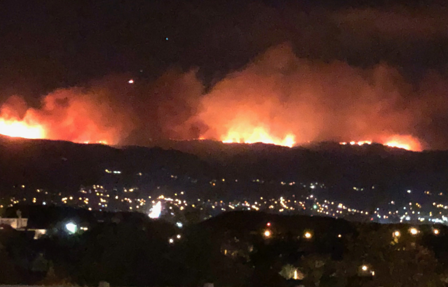 Hill & Woolsey Fire Updates