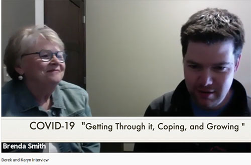 Young Man with Autism Interviewed on COVID Impact